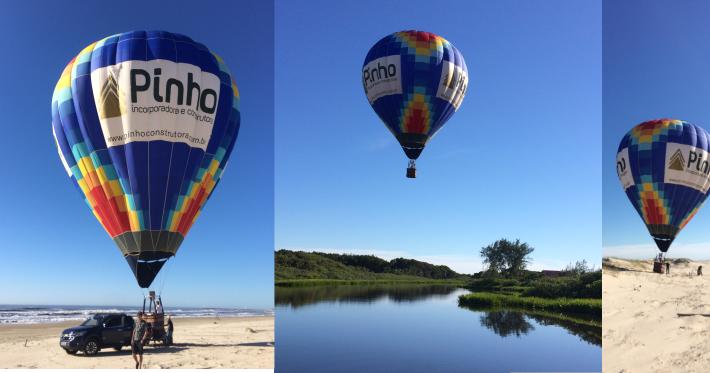 Mister Pi no  balão da Pinho!